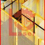 برش لیزر فلزات آتالیزر ساختمانی